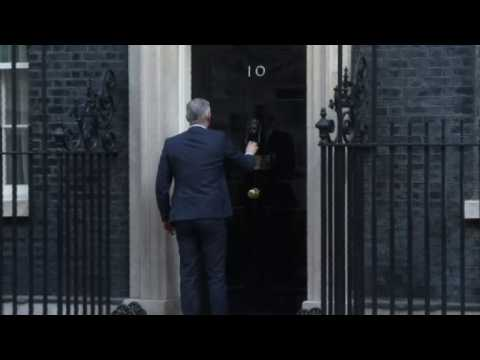 UK ministers arrive for cabinet meeting on big week for Brexit
