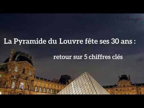 Les 5 chiffres clés de la Pyramide du Louvre qui fête ses 30 ans
