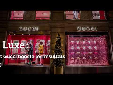 Luxe : Comment Gucci booste les résultats de Kering