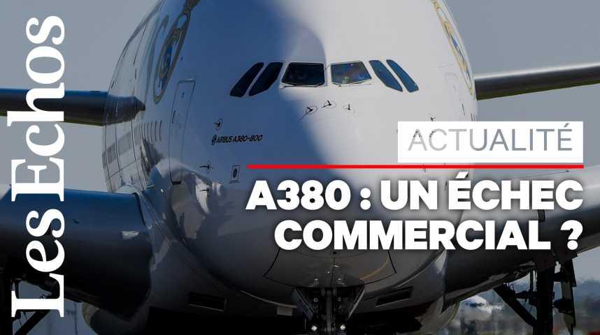 Illustration pour la vidéo Les 4 raisons de l'arrêt de l'A380