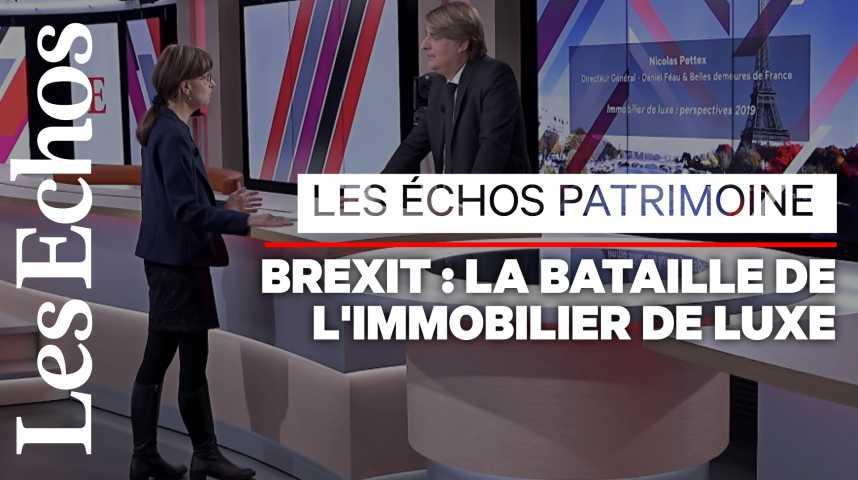 Illustration pour la vidéo Immobilier de luxe : le Brexit fait-il monter les prix à Paris ?