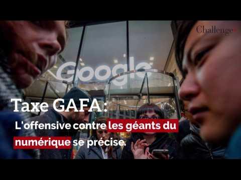 Taxe GAFA: l'offensive contre les géants du numérique se précise