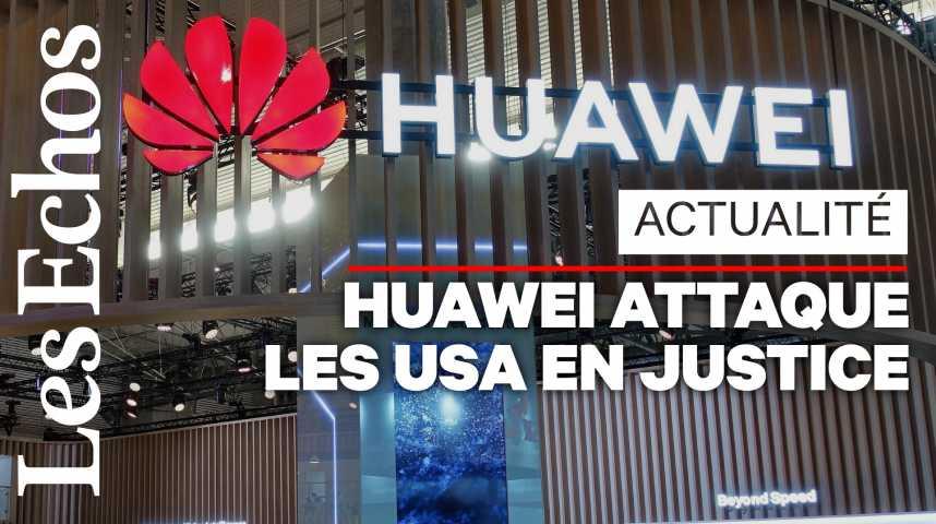 Illustration pour la vidéo Huawei attaque les Etats-Unis en justice : qu'est-ce la section 889 au cœur de la discorde ?