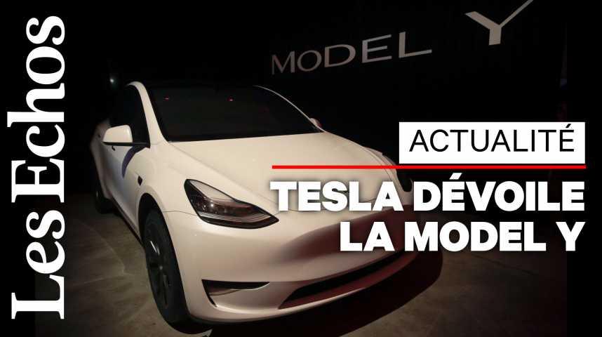 Illustration pour la vidéo Tesla dévoile son SUV électrique