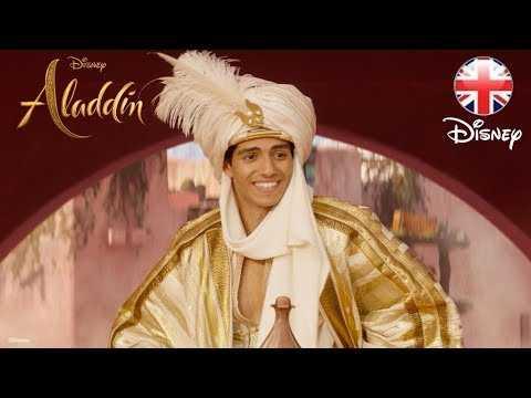 ALADDIN   Prince Ali - Clip   Official Disney UK