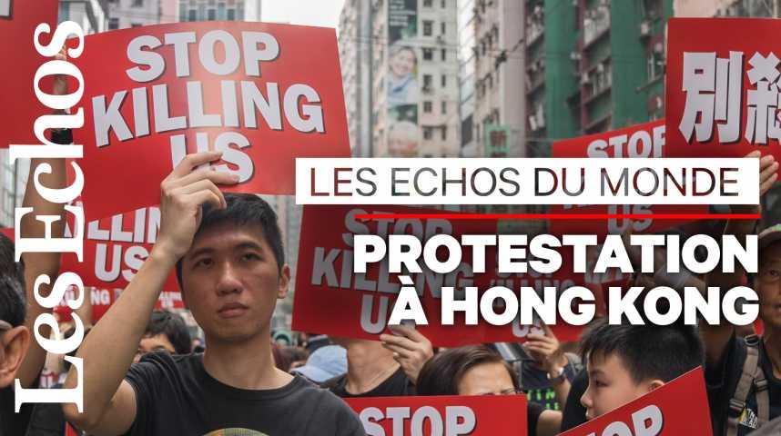 Illustration pour la vidéo A Hong Kong, « un combat pour la défense des libertés »