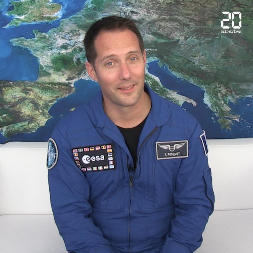 VIDEO. 50 ans du premier pas sur la Lune: Thomas Pesquet répond à nos questions «lunaires»
