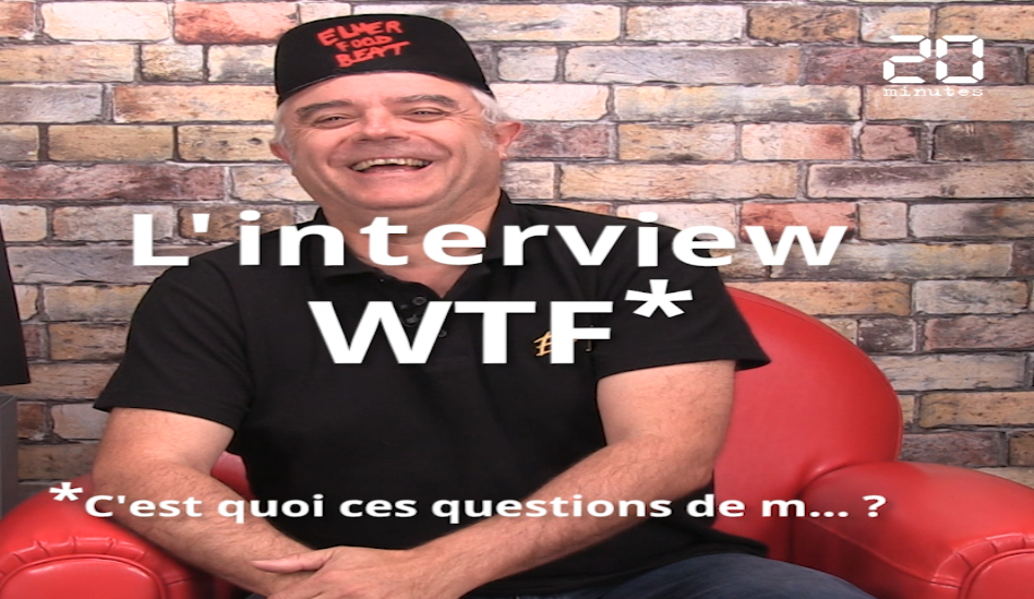 L'interview WTF de Manou, chanteur d'Elmer Food Beat