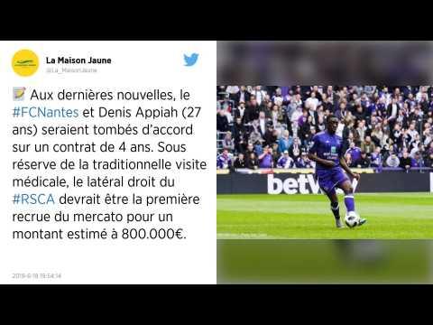 Mercato. FC Nantes?: accord trouvé entre Dennis Appiah et les Canaris