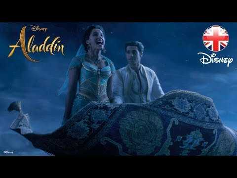 ALADDIN   A Whole New World Song Clip - Part 2!   Official Disney UK