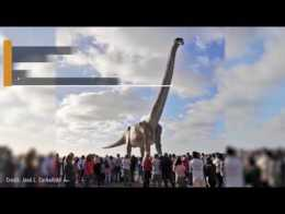 70-Ton Titanosaur Becomes World's Largest Dinosaur