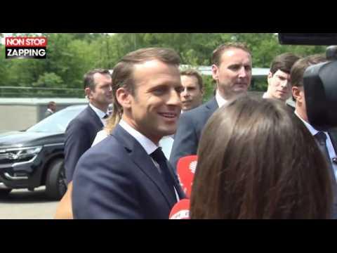 Emmanuel Macron se positionne contre la réforme de la Ligue des champions (vidéo)