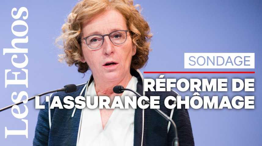Illustration pour la vidéo Trois quarts des Français favorables à la dégressivité des allocations chômage pour les hauts revenus