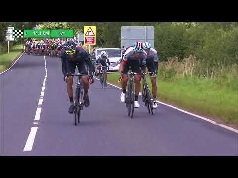 2017 Tour of Britain stage 3 highlights