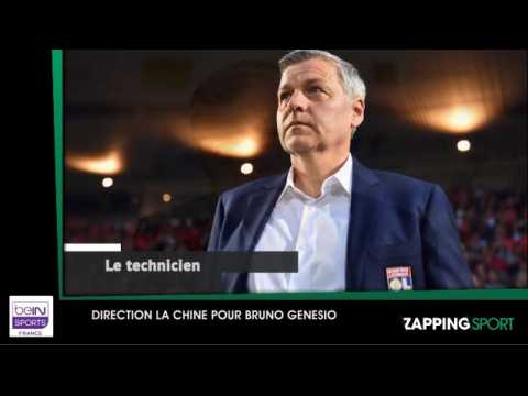 Zap sport du 1er aout : Direction la Chine pour Bruno Genesio (vidéo)