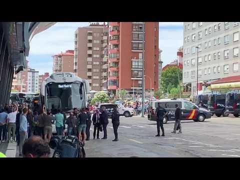 Celta Vigo - Real Madrid : les supporters du Celta se font entendre