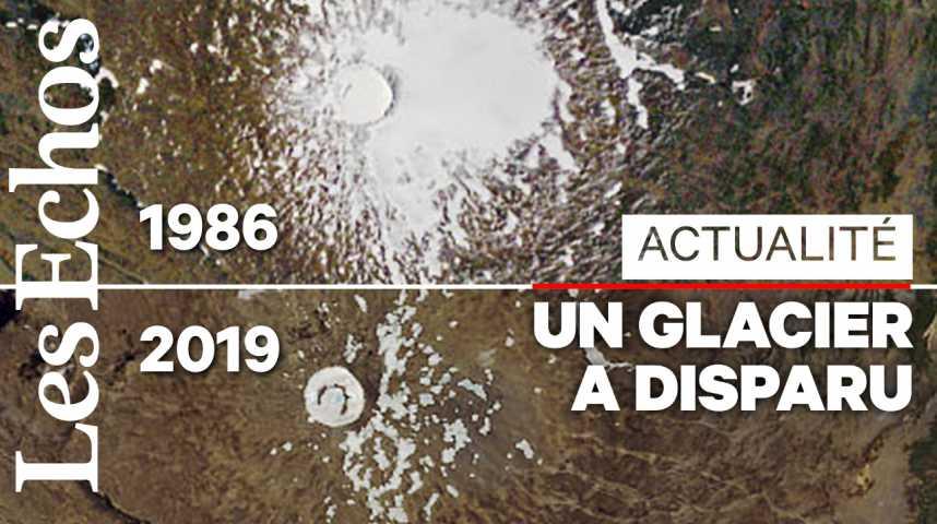 Illustration pour la vidéo Un glacier disparu commémoré en Islande