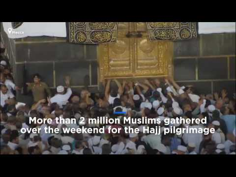 Watch: Over 2 million pilgrims gather in Mecca for Hajj