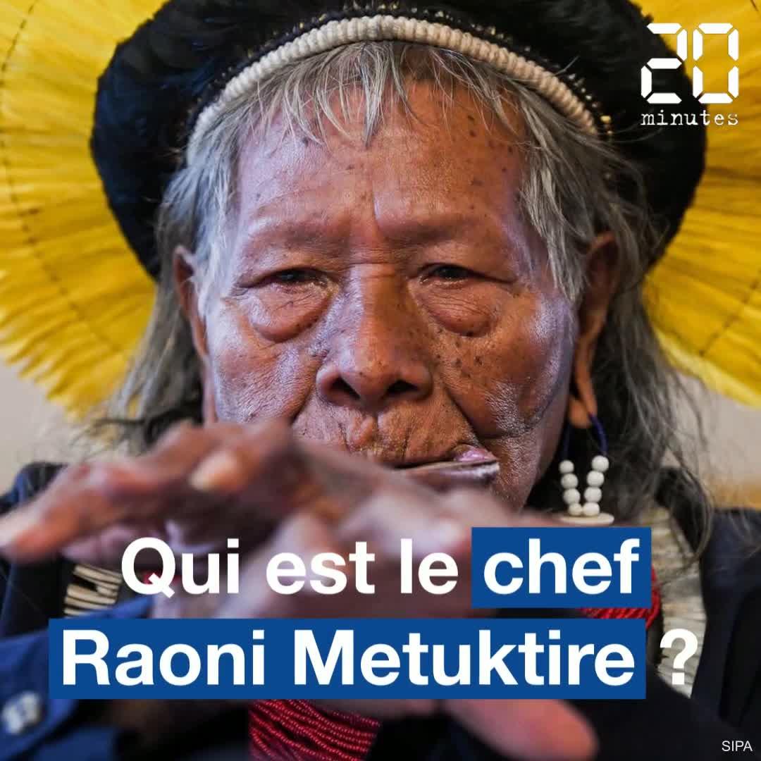 Amazonie: Qui est le chef Raoni qui lutte pour préserver la forêt amazonienne?