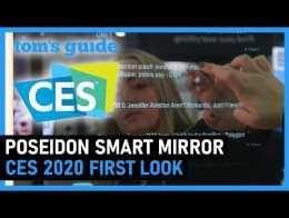 Prática com o Poseidon Smart Mirror |  Guia do Tom na CES 2020