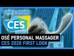Conheça o Massageador Pessoal Osé |  Guia do Tom na CES 2020