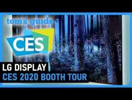 LG Display Booth Tour |  Guia do Tom na CES 2020