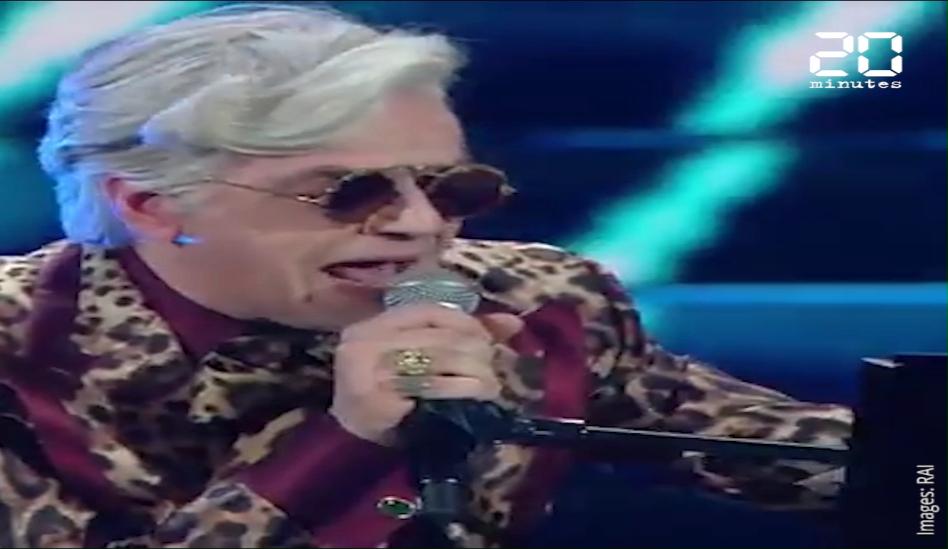 Festival de Sanremo : Un chanteur quitte la scène au beau milieu d'un duo