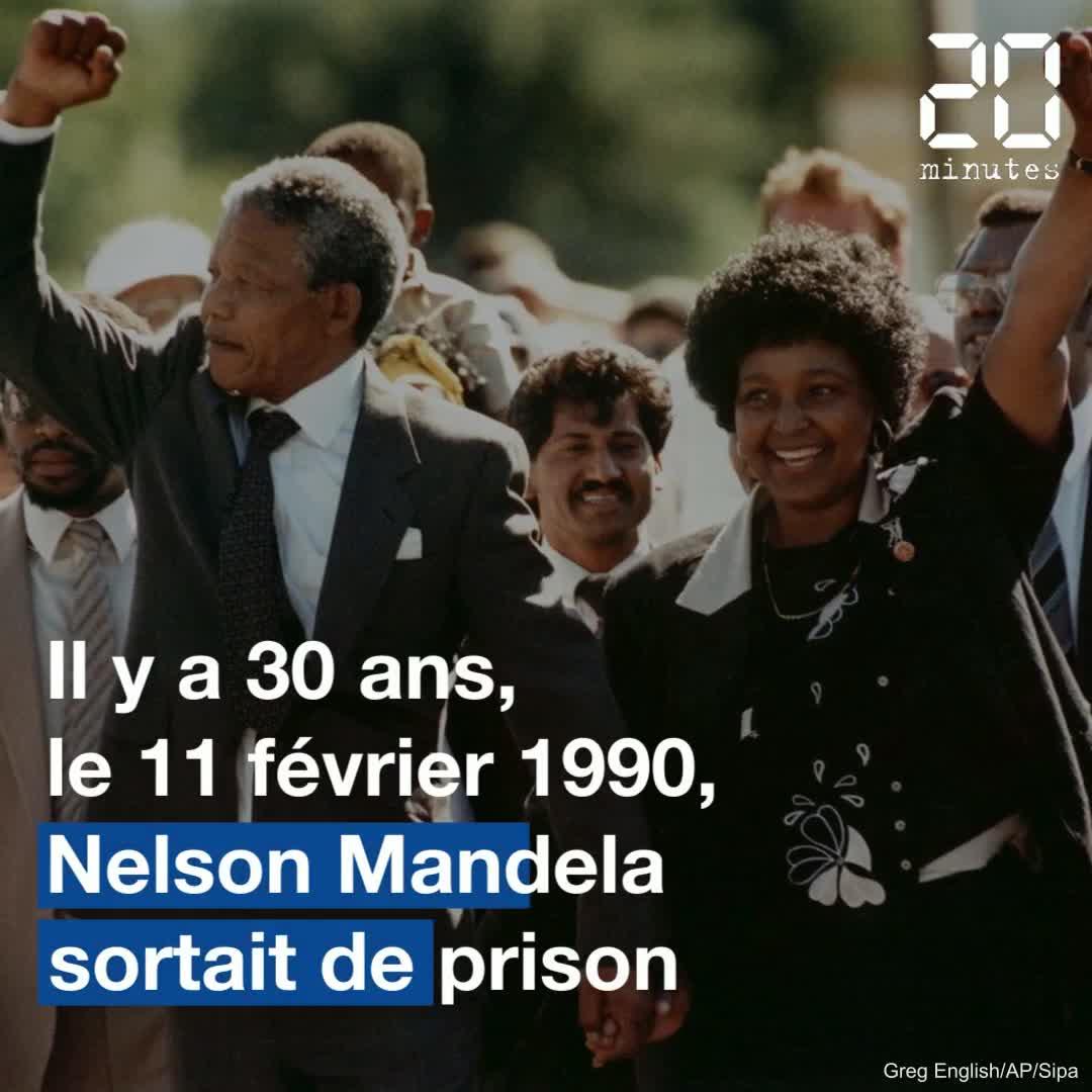 Apartheid : Il y a 30 ans, Nelson Mandela sortait de prison en Afrique du Sud