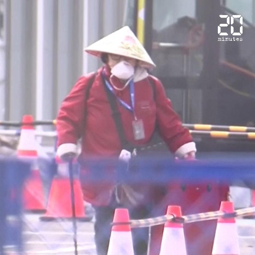 Coronavirus: Le Japon fait débarquer les passagers du «Diamond Princess» et s'organise face à l'épidémie