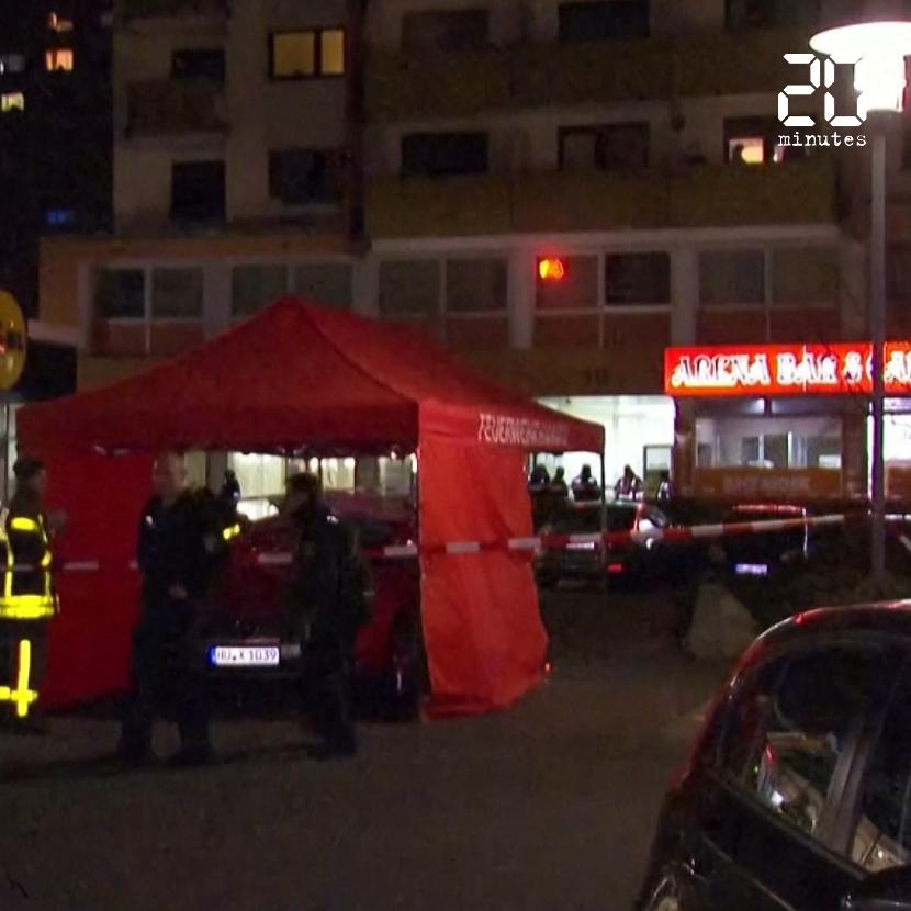 Double fusillade en Allemagne : Deux bars à chicha visés, au moins neuf personnes tuées à Hanau
