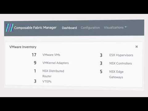 Speed deployment of VMware VMs with HPE Composable Fabric