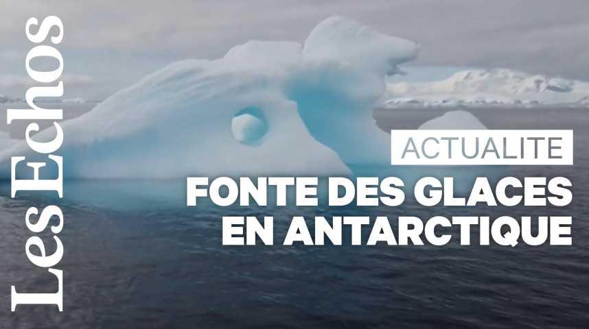 Illustration pour la vidéo En Antarctique, un réchauffement climatique aux conséquences irréversibles?