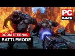 Gameplay Doom Eternal Battlemode Multiplayer PC
