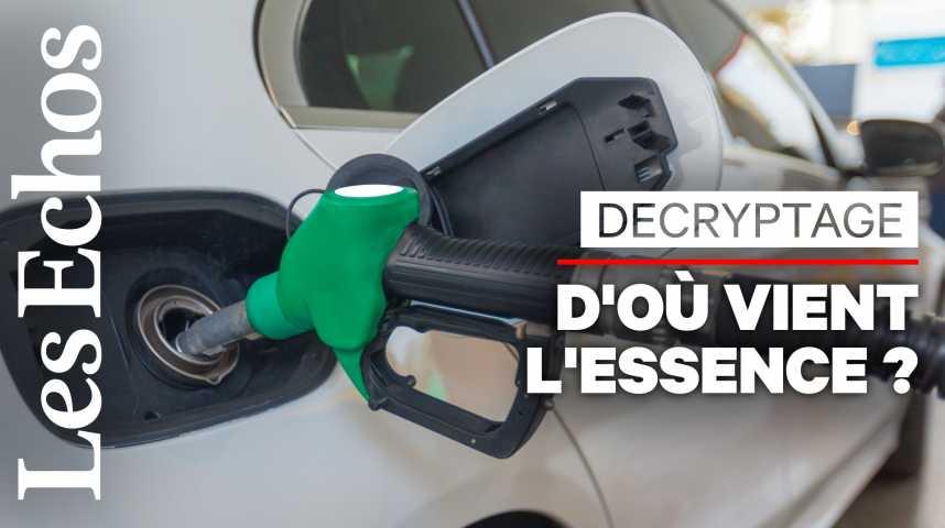 Illustration pour la vidéo D'où vient l'essence consommée en France ?