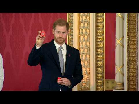 Prince Harry reemerges for Rugby League World Cup draw