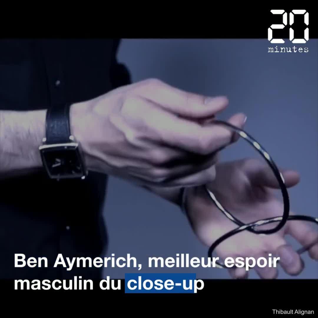 VIDEO. Ben Aymerich en lice pour le titre de meilleur magicien du monde