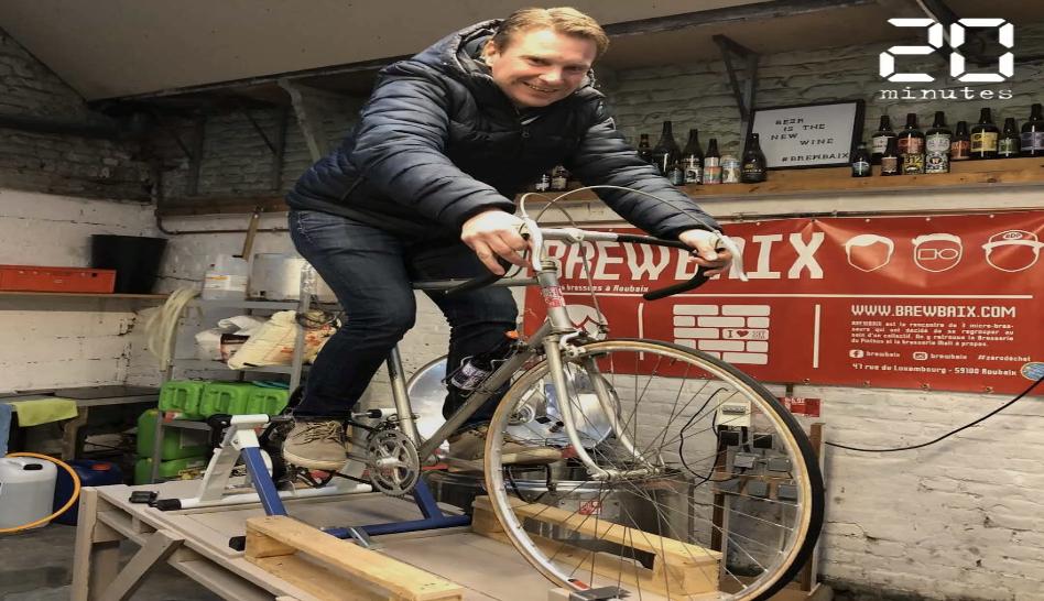 Paris-Brewbaix, une bière brassée à la force des mollets