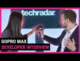 GoPro Max hands-on and developer interview | TechRadar at CES 2020