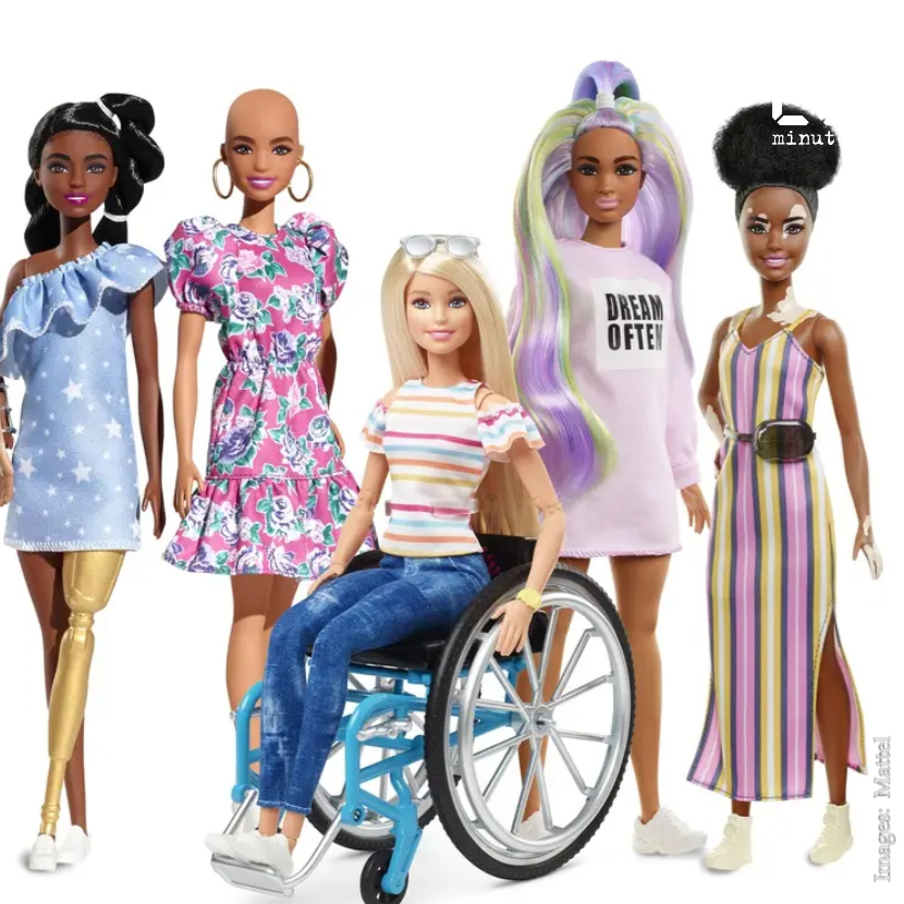 Barbie: Mattel lance une nouvelle gamme de poupées prônant la diversité et l'inclusion