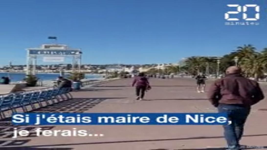 Municipales 2020 : « Si j'étais maire de Nice, je ferais... », les habitants partagent leurs propositions