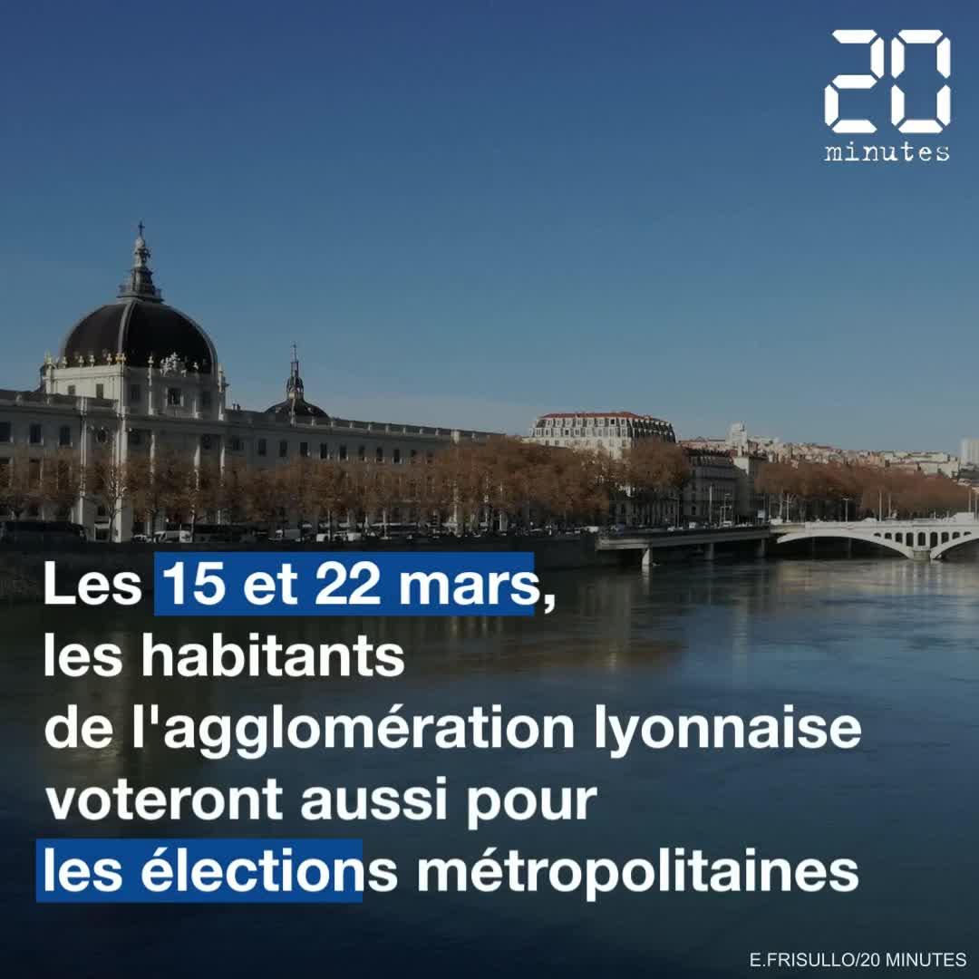 Elections 2020 : Focus sur les candidats à la métropole de Lyon