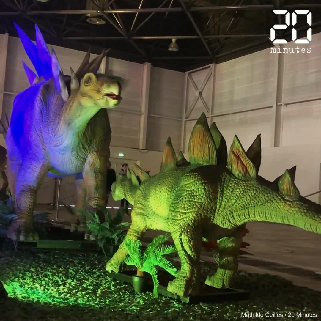 Une exposition rassemble 25 dinosaures articulés grandeur nature