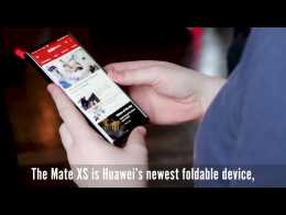 Huawei Mate XS - Everything you need to know in 1 minute