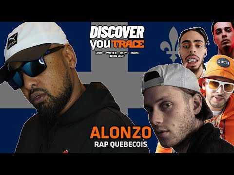 ALONZO découvre le rap québécois (Jeune Loup, Enima, Loud, White B, Dary)