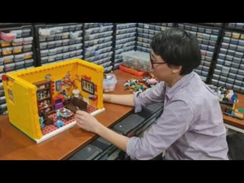Lego collector has more than 2 million pieces at his home in Vietnam