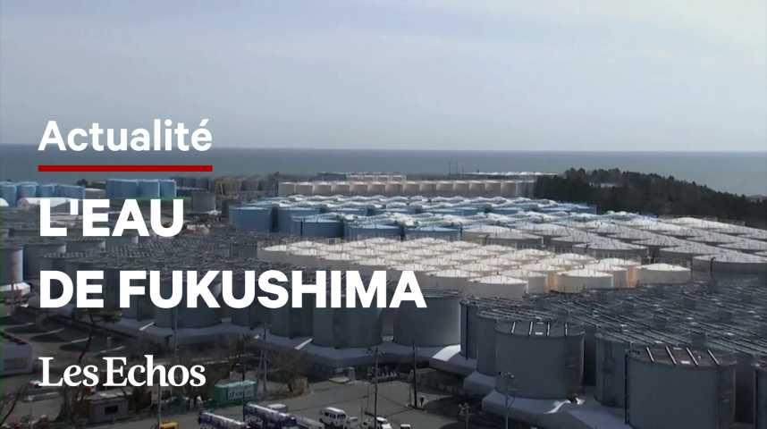 Illustration pour la vidéo Le Japon va rejeter de l'eau de Fukushima à la mer (après traitement)