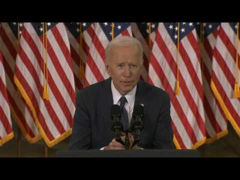 Biden sets out 'once-in-a-generation' $2 tn infrastructure plan