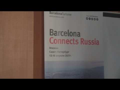 Barcelona begins its promotional campaign in Moscow to reactivate tourism