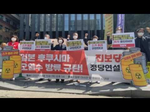 Protest continues in South Korea following Japan's plan to dump Fukushima water into ocean