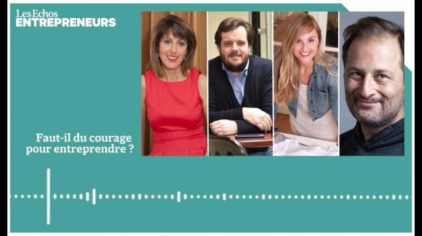 Illustration pour la vidéo Business et courage : les entrepreneurs sont-ils des héros contemporains ?